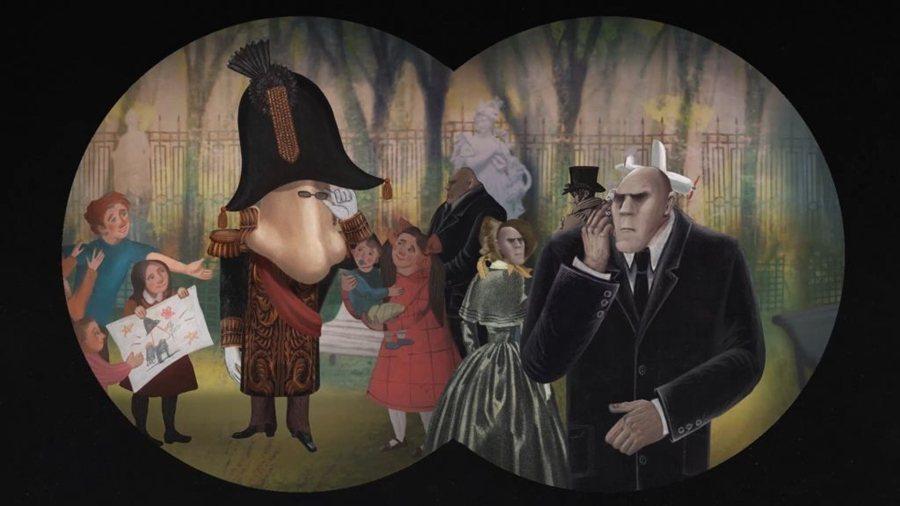 《鼻子,或異見者的陰謀》劇照。 圖/高雄電影節