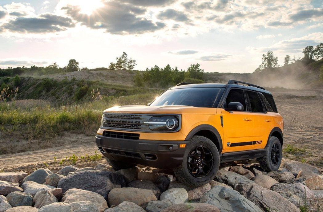 Ford Bronco Sport。 摘自Ford