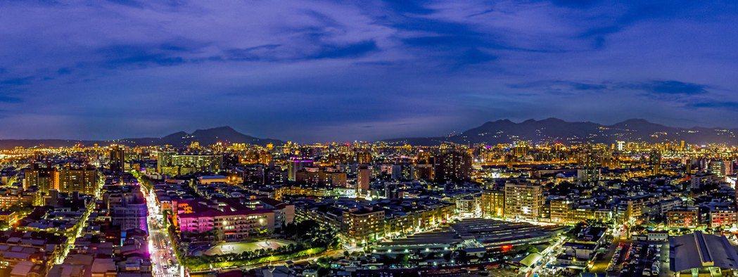 三重房價出現直追台北市的態勢。圖/業者提供