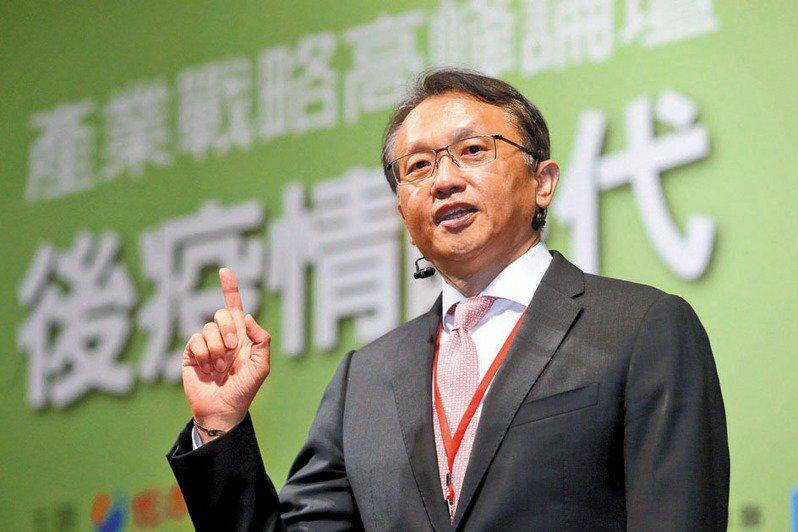 宏碁董事長陳俊聖。本報資料照片