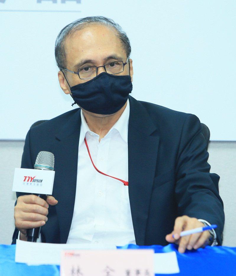 東洋董事長林全。記者潘俊宏攝影/報系資料照