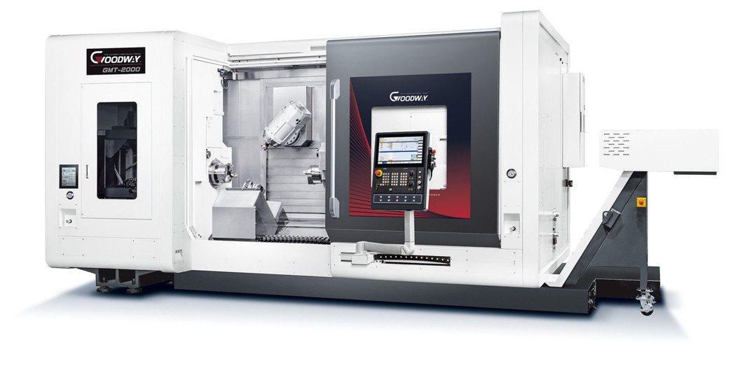 程泰機械推出GMT-2000系列銑車複合加工中心機具先進集約式加工能力,適用於複...
