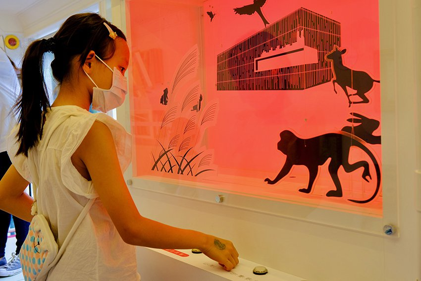 我是小小觀察員,學童可以創造屬於自己的美術館故事。 新北市政府/提供