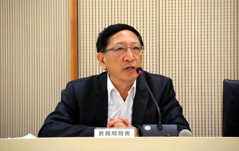 前高雄市教育局長吳榕峯。圖/高雄市教育局提供
