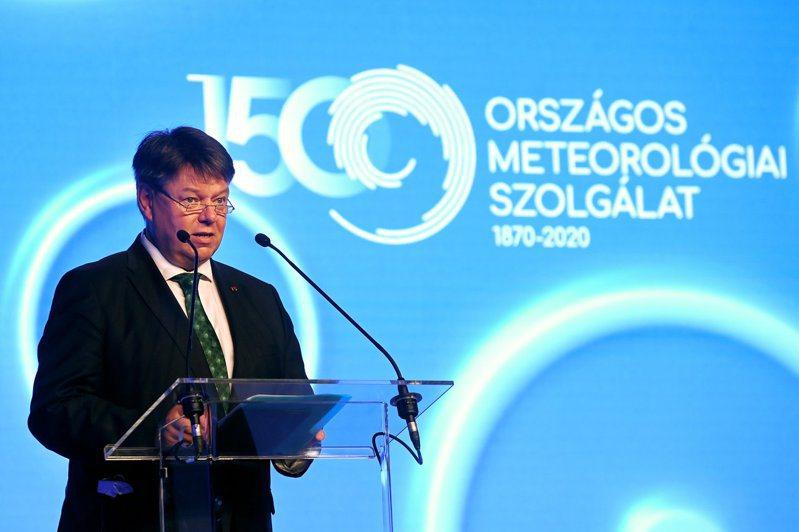 世界氣象組織秘書長塔拉斯(Petteri Taalas)。 歐新社