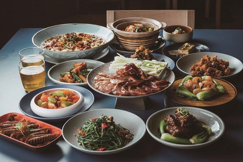 4人暢快享鴨套餐超值升級茗香宴。 攝影/Ray