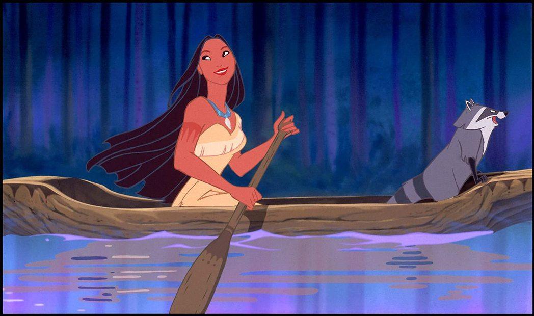 「風中奇緣」改編自發生在美洲大陸的史實,是迪士尼寄予厚望的大作。圖/摘自imdb