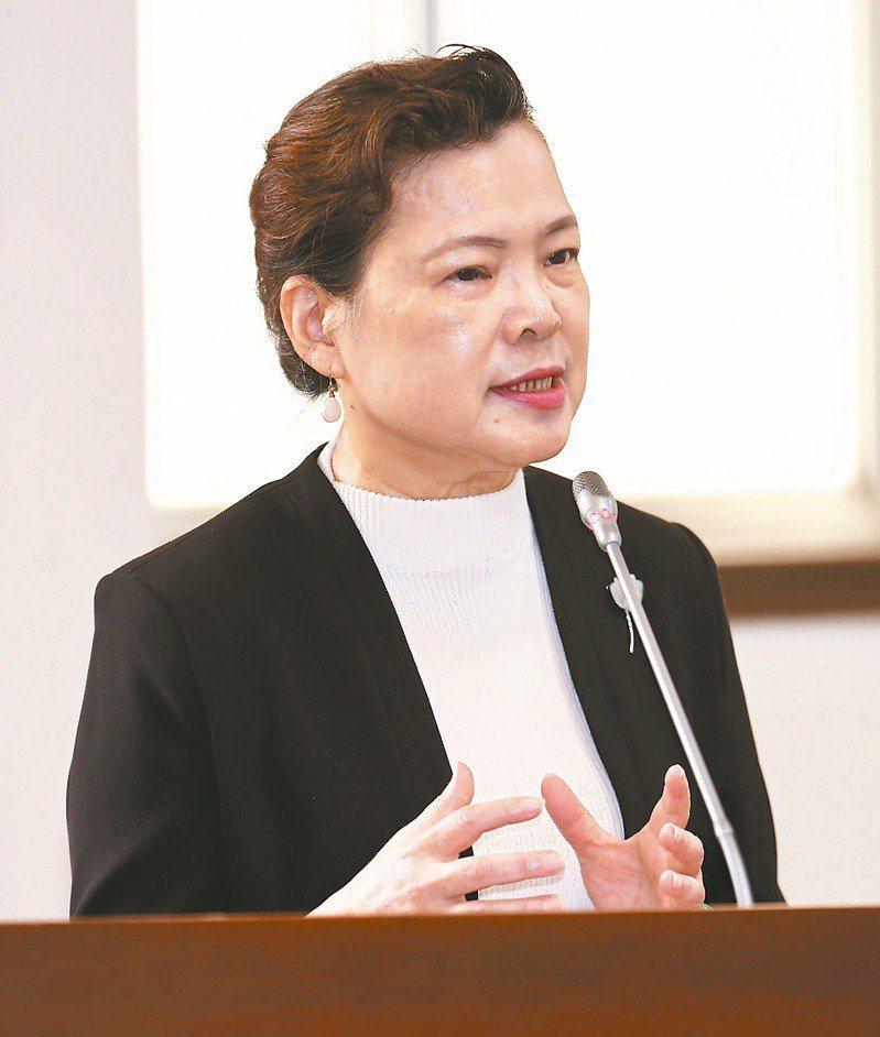 經濟部長王美花。本報資料照片。