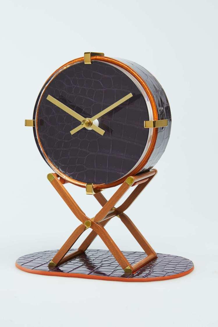 迷你PIPPA水晶時鐘,30萬6,800元起 (依商品實際材質而定)。圖/愛馬仕...