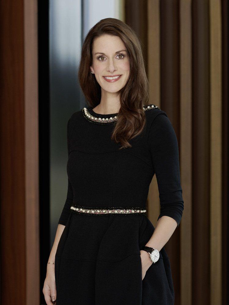 IWC萬國表行銷總監Franziska Gsell,在六分鐘的影片中,與凱特布蘭...