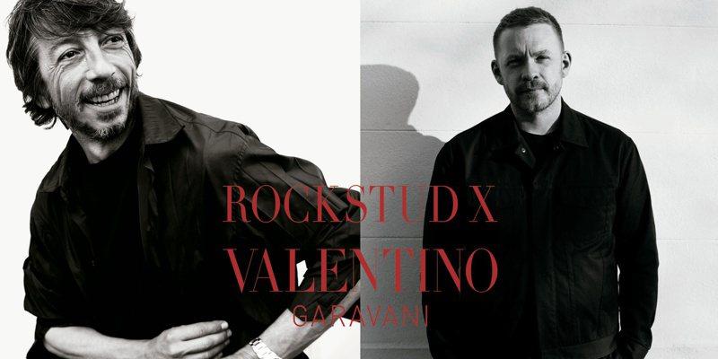 Valentino Garavani Rockstud X特別企劃,將由英國著名設計師Craig Green揭開序幕。圖/Valentino提供