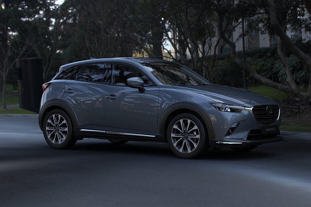 台灣馬自達推出2021年式Mazda CX-3,新增尊榮型售價自78.9萬起,8...