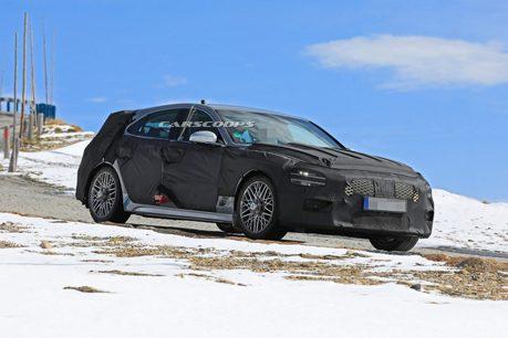 品牌首款豪華旅行車 全新Genesis G70 Shooting Brake阿爾卑斯山捕獲!