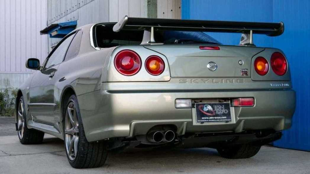 Nissan Skyline GT-R V-Spec II Nür。 摘自JDM...