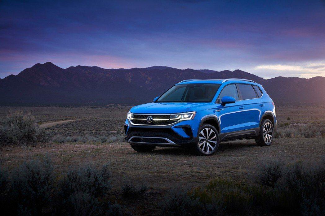 Volkswagen發表一款針對北美市場的全新小休旅Taos。 摘自Volksw...