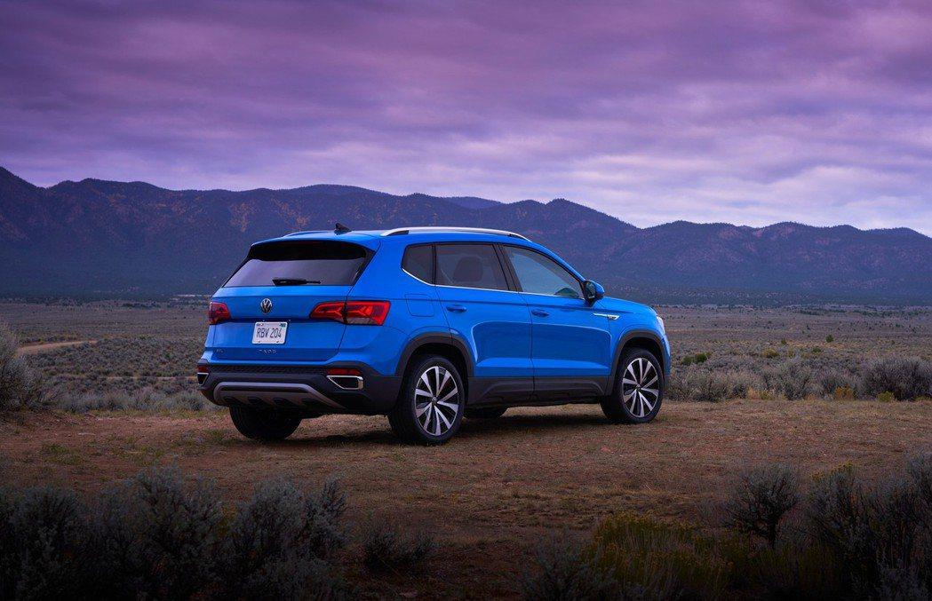 全新Volkswagen Taos。 摘自Volkswagen