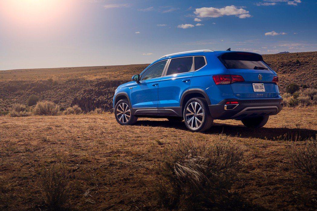 全新Volkswagen Taos要到2021年夏季才會於美國市場販售。 摘自V...