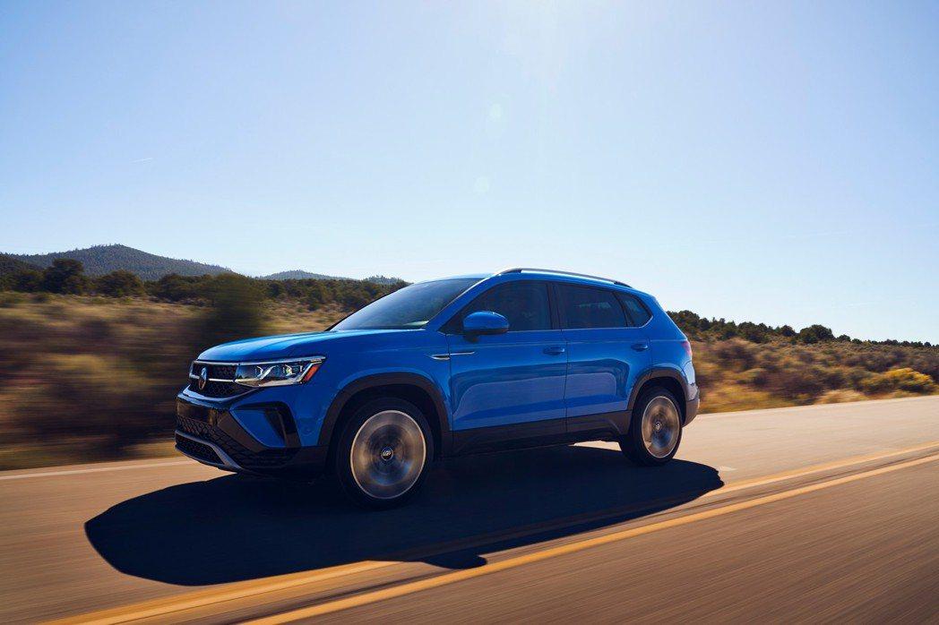 針對北美市場發行的全新小休旅Volkswagen Taos。 摘自Volkswa...