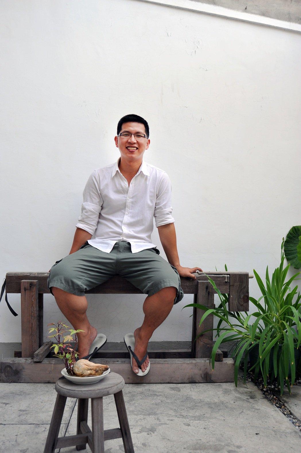 2008年游智維參與投入台南「謝宅」重生計畫。圖/游智維提供