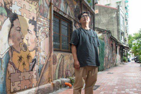 游智維認為只要慢下腳步,就能發現巷弄的美。記者陳立凱/攝影