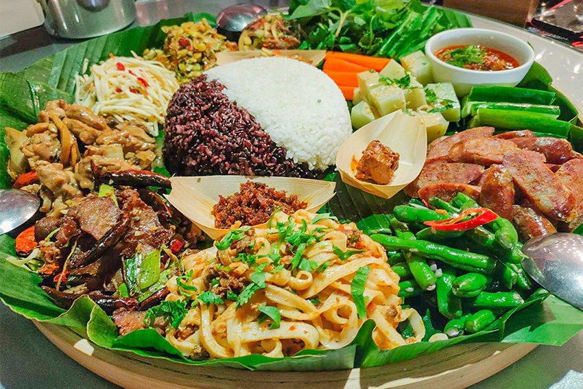 2020桃園眷村文化節「眷村新浪潮」,異域的滋味-獨特的滇緬美食盛會。 桃園...