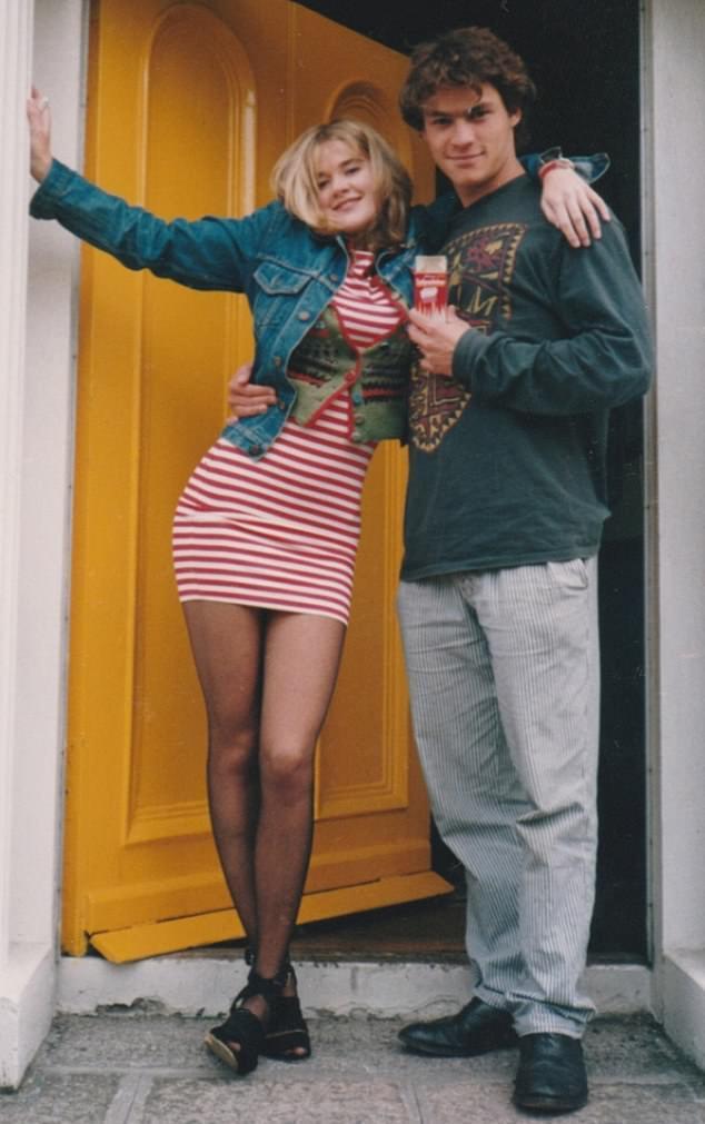 多明尼克魏斯特(右)與妻子凱薩琳在大學時就交往。圖/摘自Daily Mail