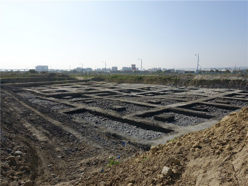 台中市十三期重劃區發現遺址,重劃進度放慢腳步,預定明年公告配地。圖/台中文化局提供