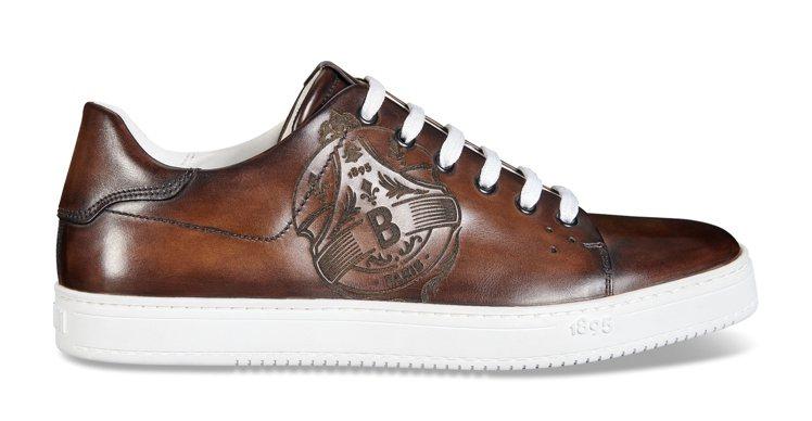BERLUTI Playtime Venezia皮革棕色休閒鞋,49,000元。...