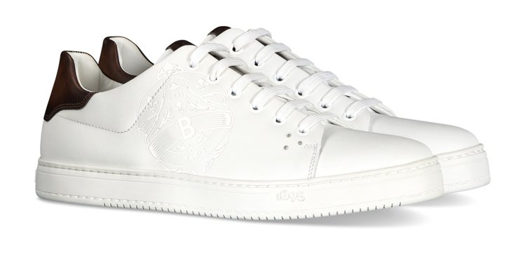 BERLUTI Playtime小牛皮白色休閒鞋,36,500元。圖/BERLU...