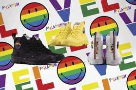Palladium聯手SMILEY讓彩虹躍上軍靴 鞋舌布標、鞋墊都沾惹最驕傲顏色