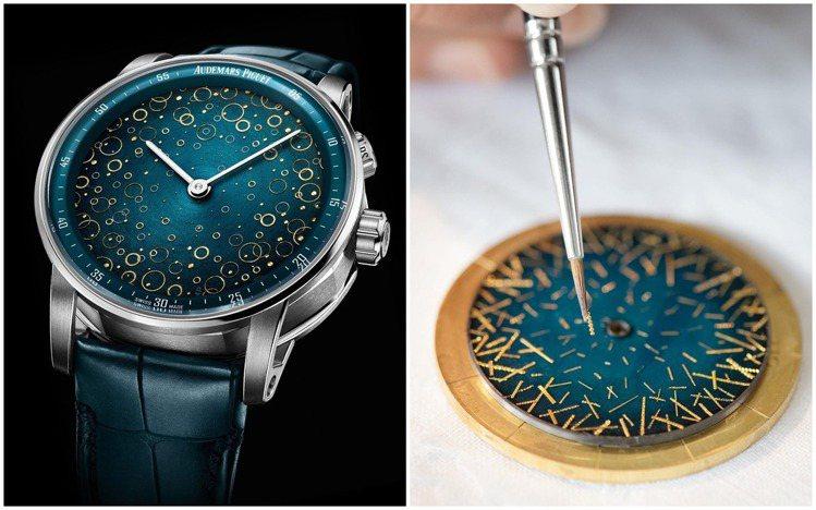一枚腕表如何帶有藝術美感和優美音質?或可欣賞愛彼CODE 11.59鐘樂報時腕表...