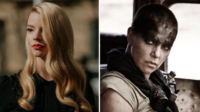 莎莉賽隆扮演的女英雄芙莉歐莎(右),前傳中交由安雅泰勒喬伊扮演。圖/摘自imdb
