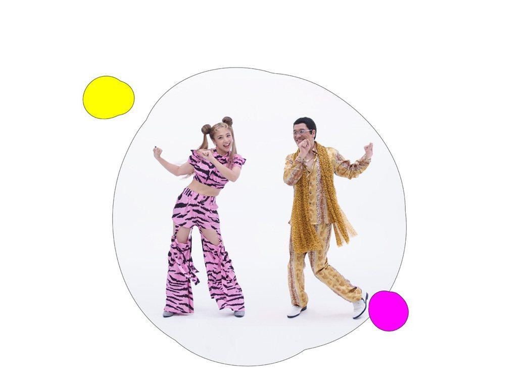 鬼鬼(左)新歌「Gugoo Game」邀來PIKO太郎合唱,誓言洗腦全球。圖/愛...