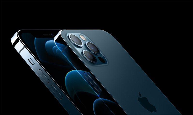 iPhone 12 Pro全新顏色太平洋藍最受消費者喜愛。圖/蘋果提供