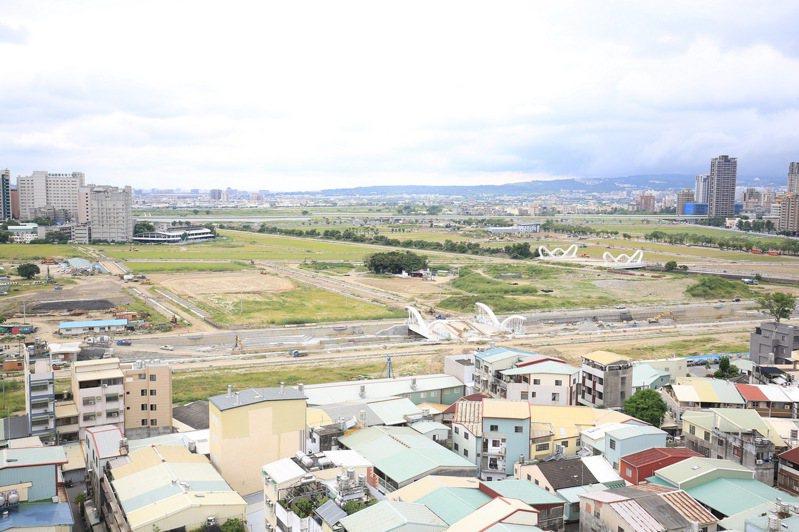 台中市13期重劃區位在未來發展熱區,但發現遺址後,地主得負擔大筆試掘費用,大傷腦筋。圖/台中市政府提供