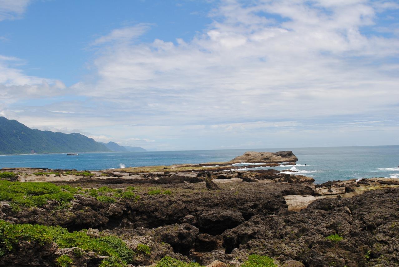 石梯坪風景區海天一色,景色美麗。 圖/段鴻裕 攝影