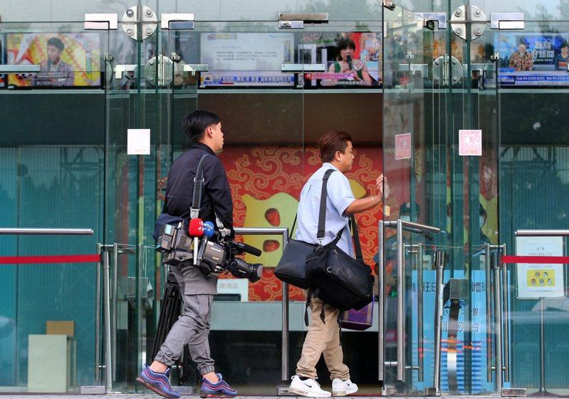 中天新聞台是否在年底關台引發各界關注,圖為中天電視總部。圖/聯合報系資料照片
