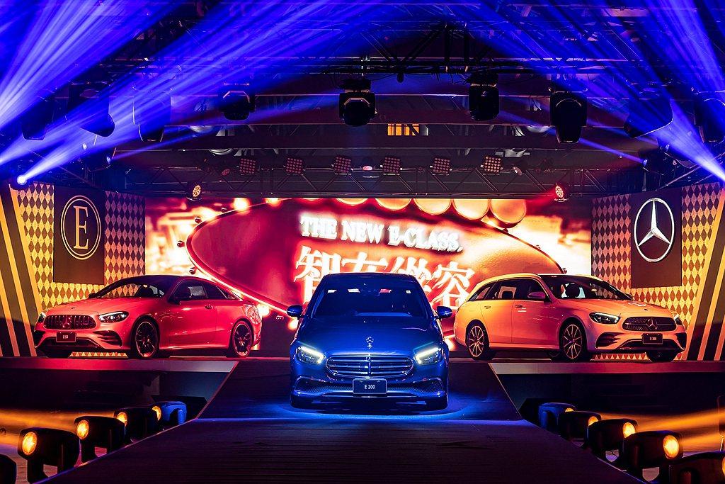 小改款賓士E-Class將帶動另一波豪華車款銷售。 圖/Mercedes-Ben...
