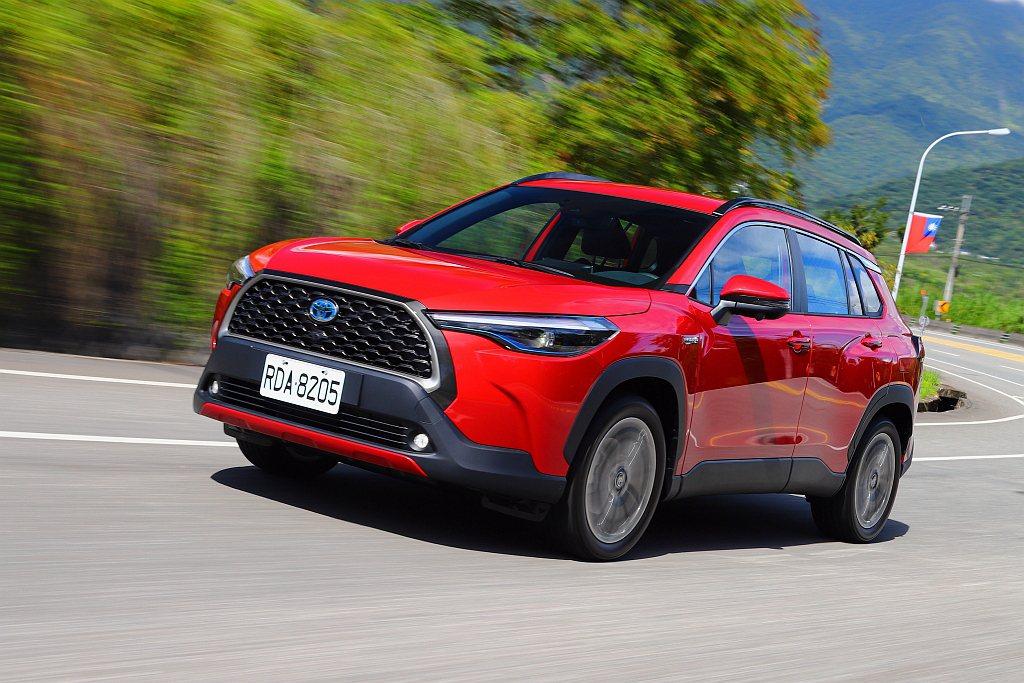 未發表、先轟動的Toyota Corolla Cross,在各車型配置模式上也有...