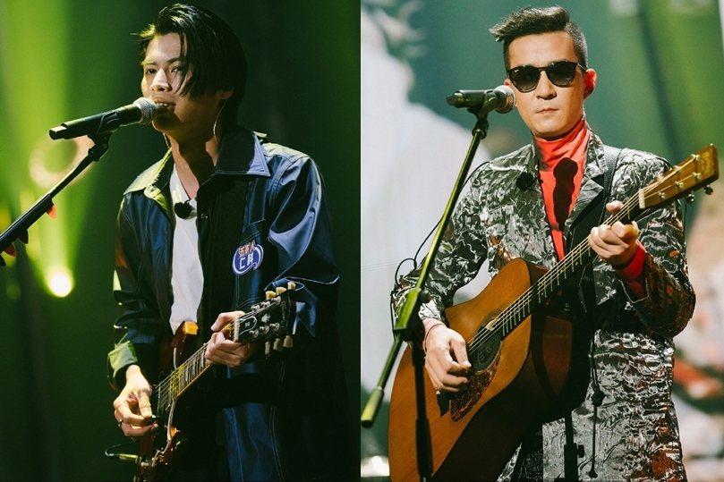 來自廣東海豐的五條人樂團,以仁科(左)、茂濤(右)兩人為主腦。 圖/《五條人》微博