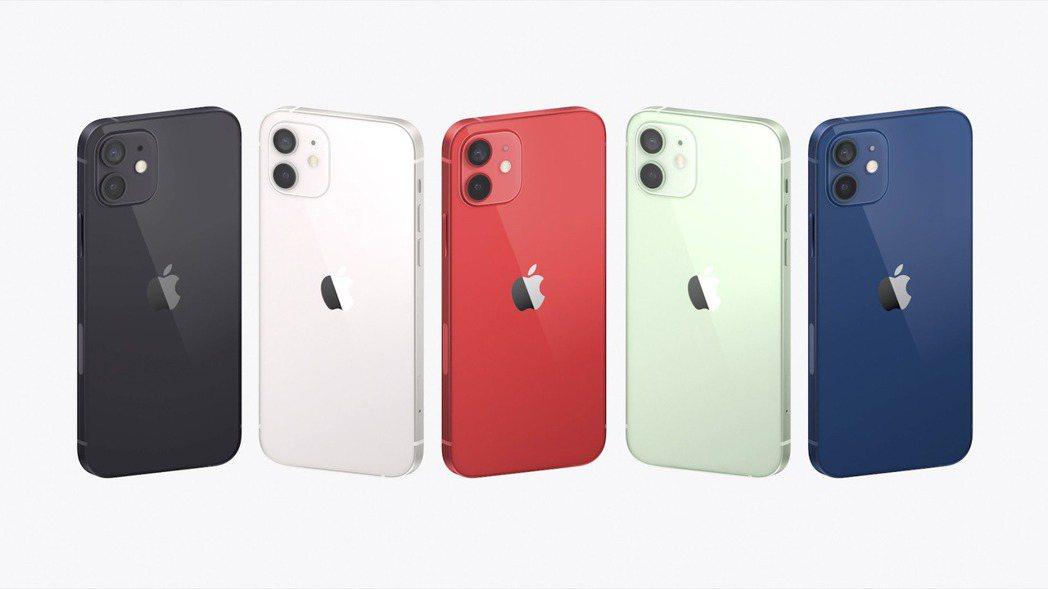 蘋果14日發表iPhone 12系列新機。 美聯社