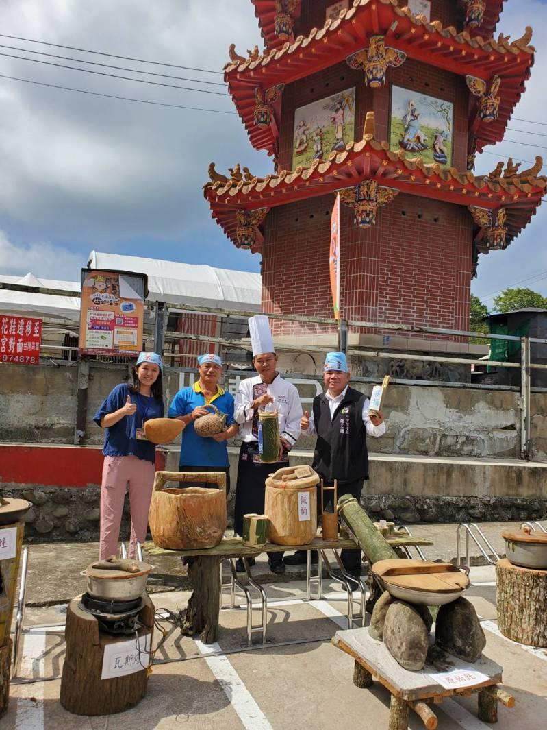 灶下生活節展出古早味炊具,具有濃厚鄉土及客家特色。記者巫鴻瑋/攝影