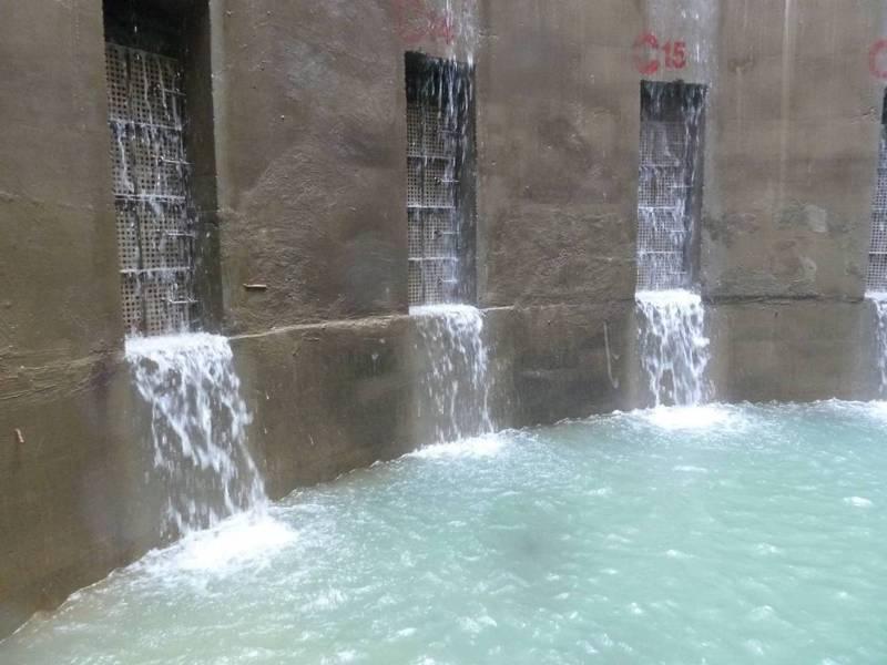 自來水公司第11區管理處在烏溪開發的兩口伏流水井,直徑13公尺、深24公尺,每天供水一萬噸,已派上用場,除穩定彰化市東部的供水外,還可以調度其他區域,目前正規畫第三口伏流井。圖/自來水公司第11區管理處提供