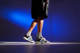 New Balance秀英倫手工製鞋魅力、PUMA潮鞋玩復古撞色拼接