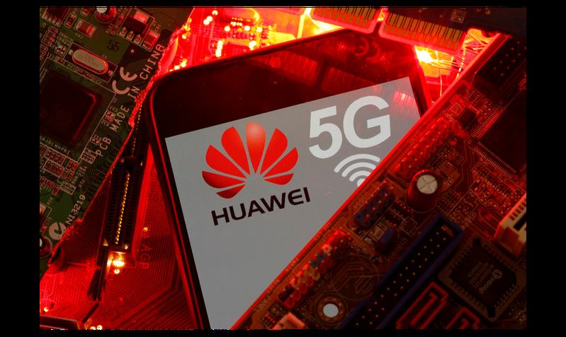 華為常務董事丁耘指出,大陸5G存在「假、啞、差」現象。路透