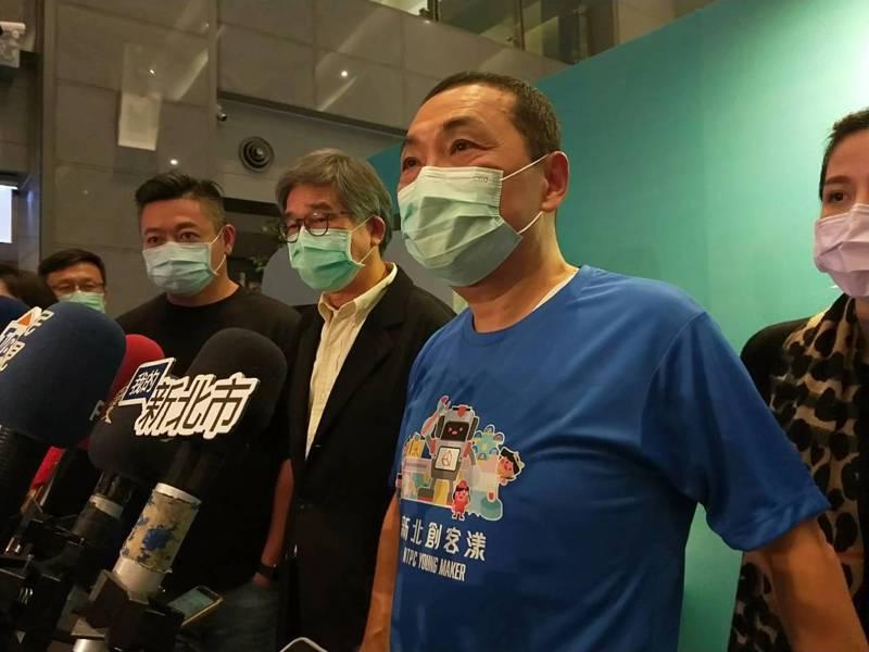 新北市長侯友宜表示,未來新北、台北、基隆市都是共同的生活圈,不分大家一起創造商機。記者江婉儀/攝影