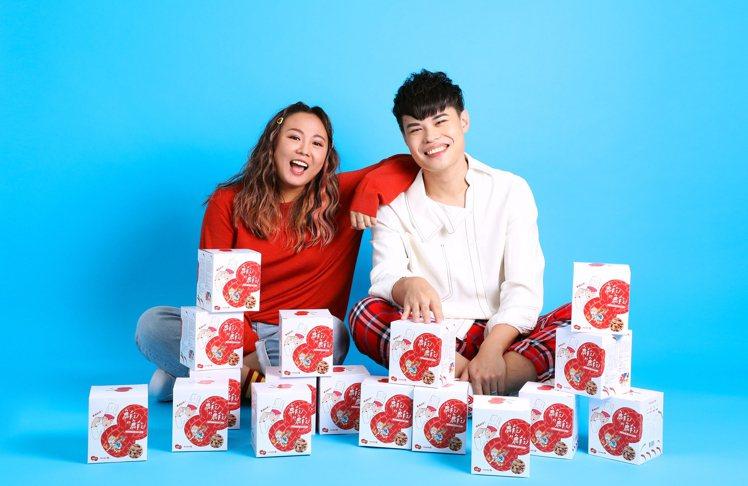 「魚乾的魚乾」品牌具代表性的「花生小魚乾」系列。圖/魚乾的魚乾提供
