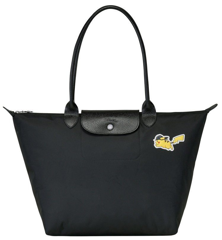 Longchamp x Pokémon聯名系列Le Pliage® 肩背袋(10...