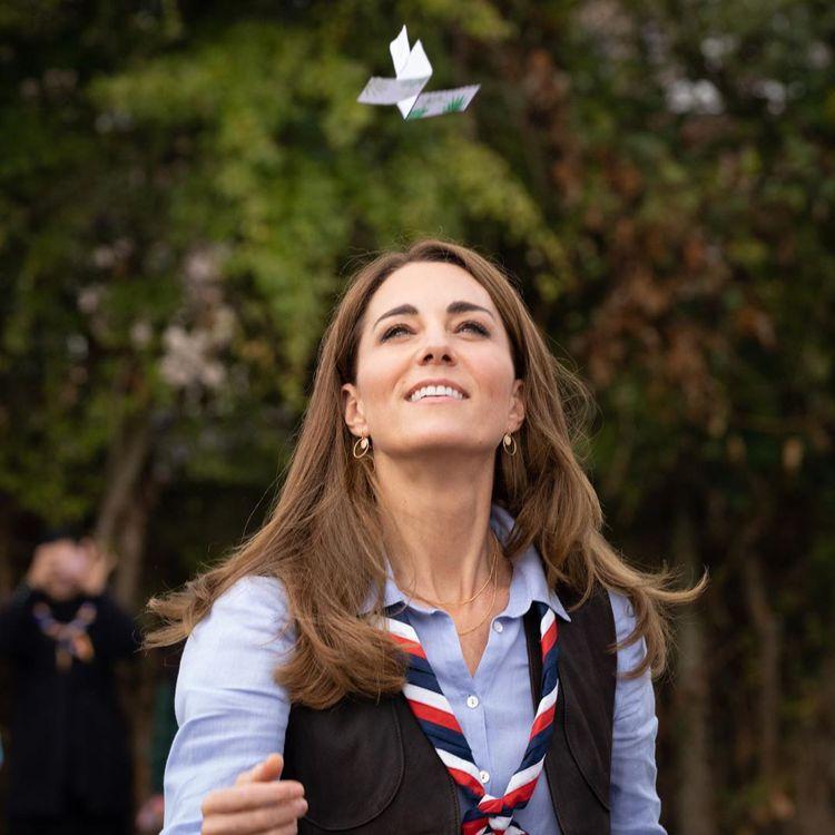 凱特王妃保養秀髮的秘訣大公開。圖/摘自kensingtonroyal IG