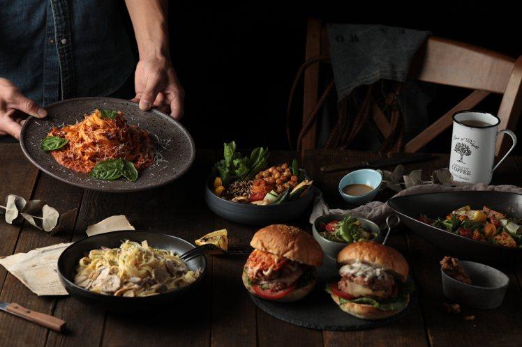 Vegan Amore蔬慕推出沙拉、開胃菜、漢堡、義大利麵、燉飯、燉菜、佛陀碗等...